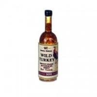 (**) Wild Turkey Bourbon Bottle - Product Image
