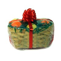 Special Order - Christmas Fruit Gift Basket - Product Image