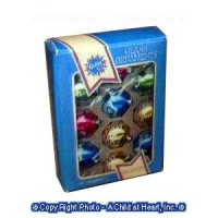 (§) Disc .40¢ Off - Vintage Styled Christmas Bulb Box - Product Image