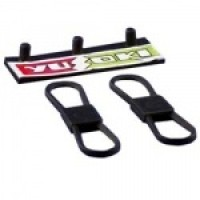§ Disc. $1 Off - Dollhouse Fan Belts & Rack - Product Image