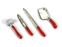 § Sale .60¢ Off - 4 pc Butcher Tool Set - Product Image