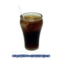(§) Disc .70¢ Off - 4 Acrylic Dollhouse Soda Glasses - Product Image