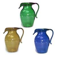 (§) Sale .30¢ Off - Tall Glass Pitcher - Product Image