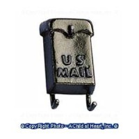 § Sale - Metal Wall Mailbox w/Paper Holders - Product Image