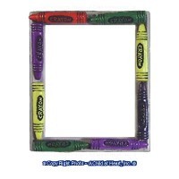 Dollhouse Miniature Crayon Frame - Product Image
