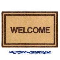 § Sale .50¢ Off - Dollhouse Small Welcome Mat - Product Image