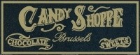 (*) Dollhouse Candy Store Sign - Product Image