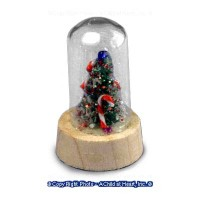 § Disc. $2 Off - Sm Christmas Tree Dome - Product Image