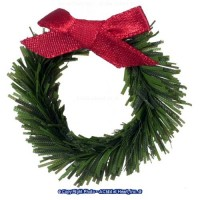 Dollhouse Wreath with Bow - Product Image