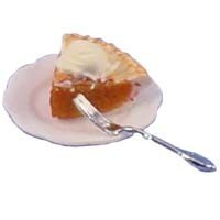 Dollhouse Pie Slice Ala-Mode- Choice of Flavors - - Product Image