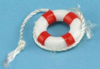 Sale .50¢ Off - Small Life Preserver in Blue or Red - Product Image