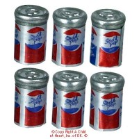 Dollhouse 6 pc ''Pepsi'' Cans - Product Image
