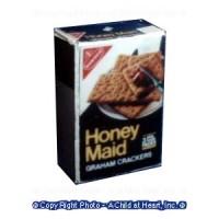 (§) Disc .40¢ Off - Dollhouse Honey Graham Cracker Box - Product Image