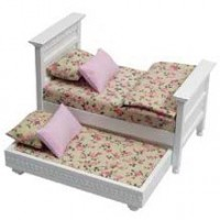 Dollhouse Double Trundle Bed - Product Image