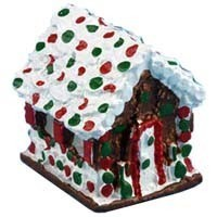 Dollhouse Gingerbread House - Product Image