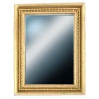 Gold Rectangular Dollhouse Mirror - Product Image