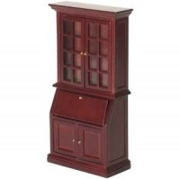 Dollhouse Tall Mahogany Secretary - Product Image