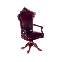 Fancy Dollhouse Victorian Desk Chair by Bespaq - Product Image