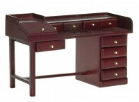 Dollhouse Nine Drawer Desk - Product Image
