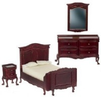 Dollhouse Chateau Lorraine Bedroom by Bespaq - Product Image