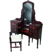 § Sale - Vanity with Stool - Product Image