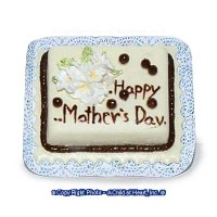 Dollhouse Mother's Day Cake - Product Image