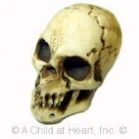 Sale - Dollhouse Scary Skull - Product Image