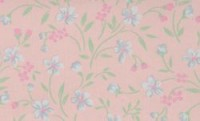 (§) Disc $3 Off - 3 Shts Floral on Mauve Paper - Product Image