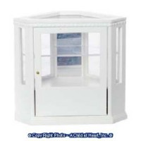 Dollhouse Mirrored Corner Display Case - Product Image