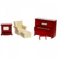 Dollhouse 4 pc Den Set - Product Image
