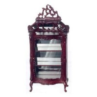 Dollhouse Victorian Display Cabinet - Product Image