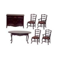 Dollhouse Normandy Dining Room by Bespaq - Product Image