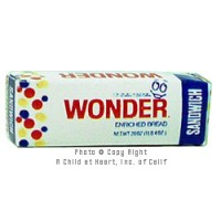 § Sale .50¢ Off - Wonder White Bread - Product Image