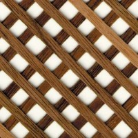 Dollhouse Lattice Panels- Choice of Finish - - Product Image