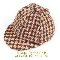 Dollhouse Men's Checked Hats - Product Image