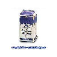 (*) Dollhouse Drinking Straw Box - Product Image