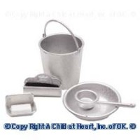 (**) Assorted Dollhouse Sink Accessories Sets - Product Image