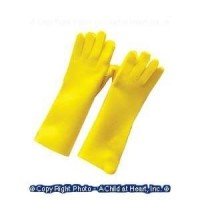 § Sale .70¢ Off - Dollhouse Real Rubber Gloves - Product Image