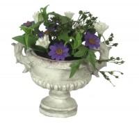 Dollhouse Purple Floral Arrangement - Product Image