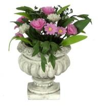 Dollhouse Pink Floral Arrangement - Product Image