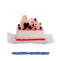 Dollhouse Bear Cake - Product Image