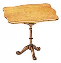 Dollhouse Chippendale Tilt-Top Tea Table (Kit) - Product Image