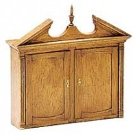 Dollhouse Chippendale Secretary Top (Kit) - Product Image