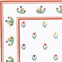 (§) Disc $3 Off - 3 Shts Tulip Time Paper - Product Image