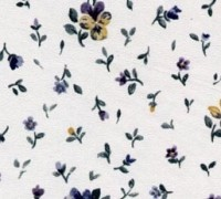 (§) Disc .70¢ Off - 1 Sht Blue Pretty Pansy Paper - Product Image
