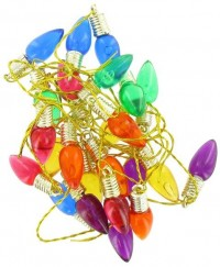 § Disc $1 Off - 10 Dollhouse Christmas Light Bulbs - Product Image