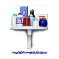 Dollhouse Medical 1/2 Round Shelf - Product Image
