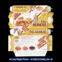 (**) Dollhouse Fig Cookie Box (Kit) - Product Image
