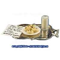 Dollhouse Tray of Cookies For Santa - Product Image