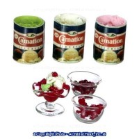 Dollhouse Cherry / Berry - Ice Cream Sundae Set - Product Image